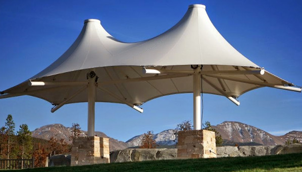 Conical Designer Awning