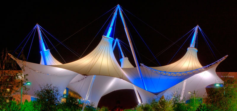 Architectural Tensile Structure Gallery